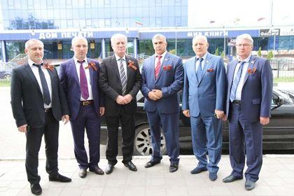 Депутаты Парламента ЧР приняли участие в акции «Георгиевская ленточка»