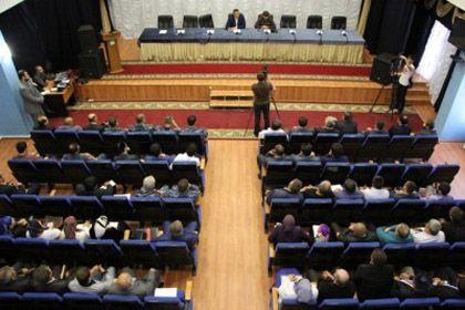 На фото: актовый зал Мэрии  г. Грозный
