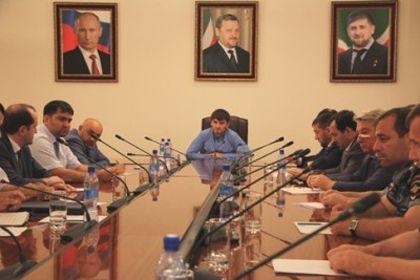 На фото: Мэр Грозного Ислам Кадыров
