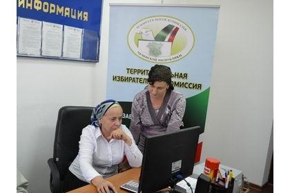 Члены участковых ТИК проходят тестирование