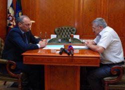 Глава Дагестана провел встречу с руководством Унцукульского района