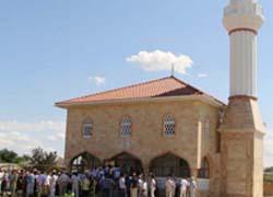 В Крыму открыли мечеть имени А.-Х. Кадырова
