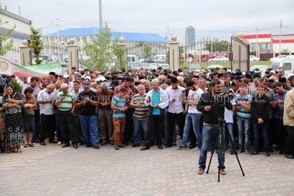 На фото: Участники акции