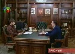 Рамзан Кадыров встретился с управляющим отделением Пенсионного фонда России по ЧР М.-Э. Ахмадовым