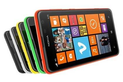 На фото: Nokia Lumia 625
