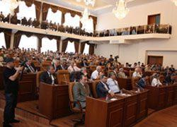 Парламент ЧР  единогласно утвердил кандидатуру Кадырова на пост главы республики