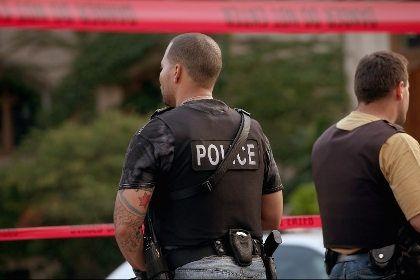 На фото: Сотрудники полиции Чикаго