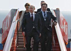 Путин прибыл в Стокгольм, где обсудит экономические связи
