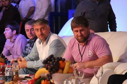 На фото: Глава Чеченской Республики Р.А. Кадыров