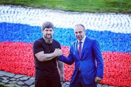 Р. Кадыров встретился с замначальника Управления Президента России по работе с обращениями граждан