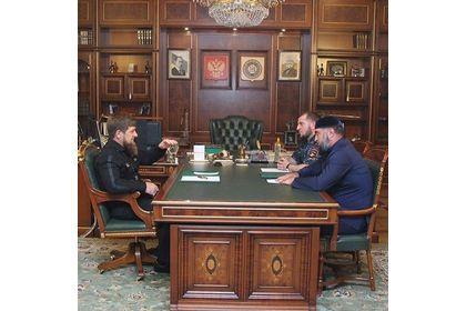 Р. Кадыров провел встречу с руководством штаба по восстановлению и развитию Шаройского района