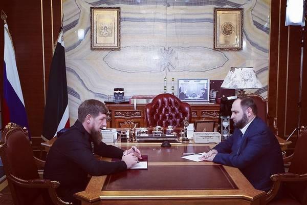 Кадыров назначил нового руководителя администрации главы республики