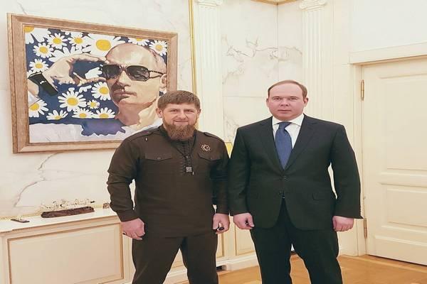 Р. Кадыров встретился в Кремле с А. Вайно
