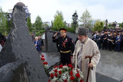 В Грозном торжественно отметили 70-ю годовщину со Дня Великой Победы над фашизмом