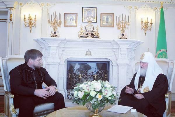 Кадыров поздравление патриарха