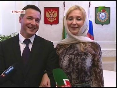 """Кадр телеканала """"Грозный"""""""