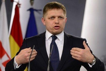 На фото: Премьер-министр Словакии Роберт Фицо