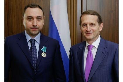 Депутат Госдумы Шамсаил Саралиев награжден Орденом Дружбы