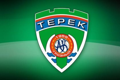 "На фото: Логотип ""Терека"""