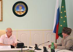 Глава республики принял муфтия Адыгеи и Краснодарского края