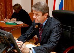 Губернатор Александр Ткачев провел рабочую встречу с главой Новокубанского района Романом Архиповым