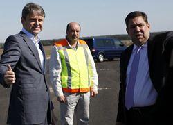 Губернатор Кубани Александр Ткачев совершает рабочую поездку в Тихорецкий район.