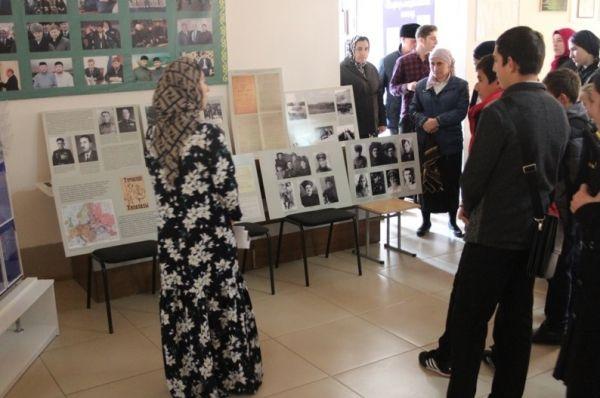 Передвижная выставка открылась в с.Агишты