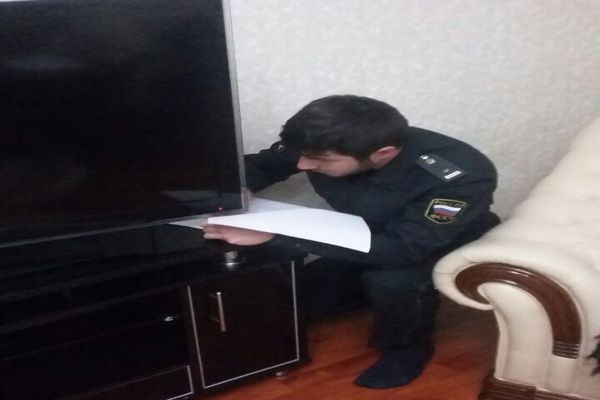 Свыше 6 млн.руб. взыскано с жителей Чечни в ходе трехдневных рейдов