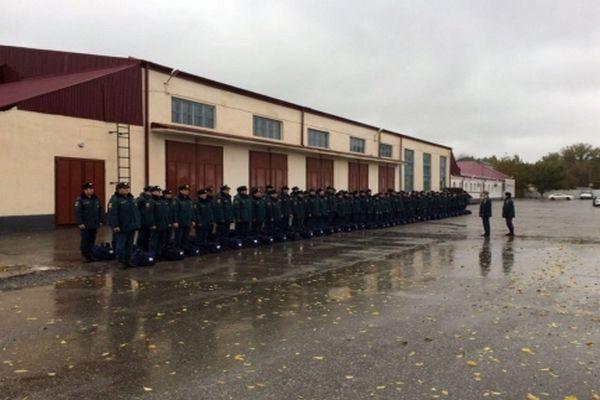 В Чечне проверили боеготовность аэромобильной группировки МЧС