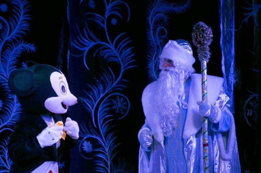 В Грозном  состоялось рождественское представление для детей из православных семей