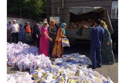 РОФ им. Кадырова провел масштабную благотворительную акцию