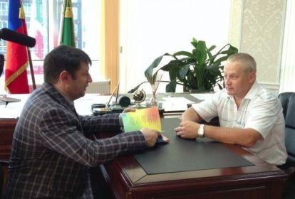 На фото: Иса Хаджимурадов и Виктор Сидоров