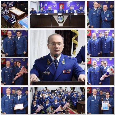 Юрий Чайка поощрил сотрудников чеченской прокуратуры