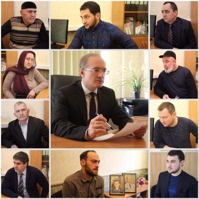 Прокурор Чечни осуществил прием граждан