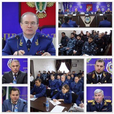 В прокуратуре Чечни обсудили вопросы противодействия коррупции