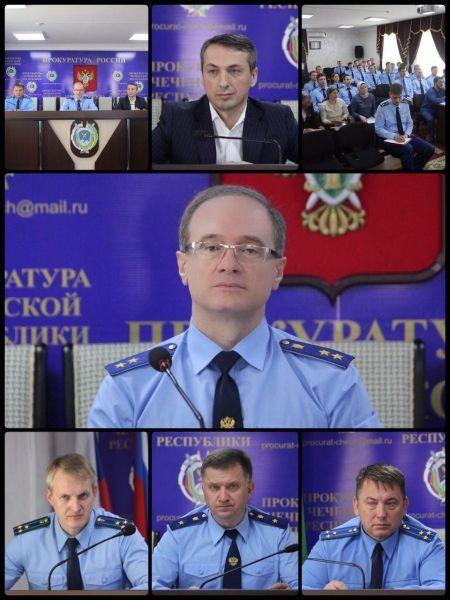 В прокуратуре Чечни заслушаны результаты исполнения решения совместного заседания коллегий прокуратуры и Минздрава ЧР