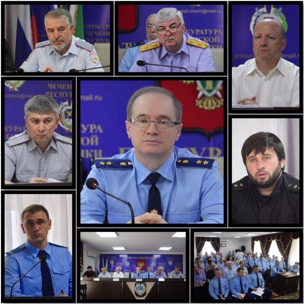 В прокуратуре Чечни обсудили вопросы исполнения Национального плана противодействия коррупции