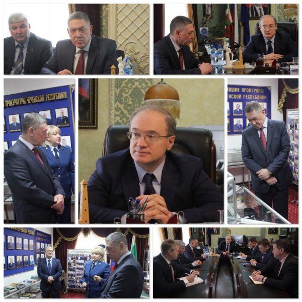 Прокурор Чечни и руководитель СУ СК РФ по ЧР обсудили вопросы взаимодействия