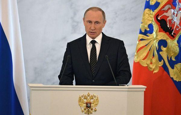 Владимир Путин  огласит Послание Федеральному Собранию