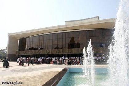 На фото: Государственный театрально-концертный зал