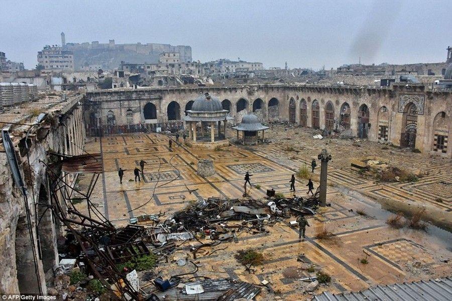 РОФ им. А.-Х. Кадырова приступил к восстановлению мечети Омейядов в Алеппо