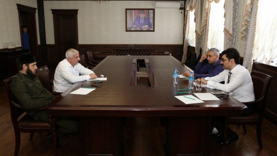 Якуб Закриев и Усман Оздамиров встретились с инвесторами из Ирана