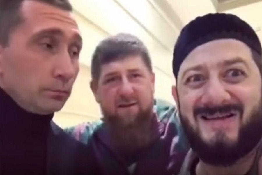 Ролик с Кадыровым и Галустяном в сети набирает популярность