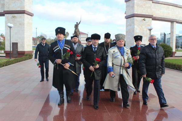«От Терека до Дона» - участники межрегиональной конференции отдали дань памяти и уважения Первому Президенту ЧР