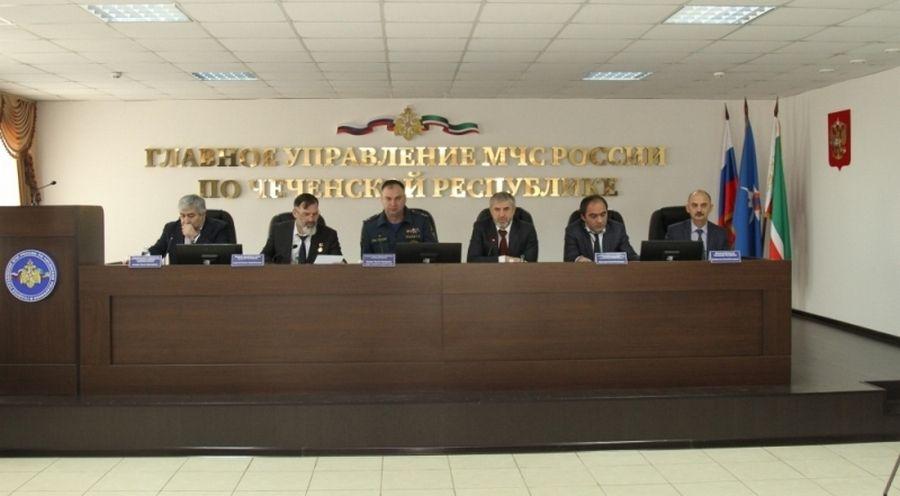В Грозном подвели итоги работы территориальной подсистемы РСЧС за 2017 год