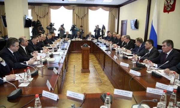 Абубакар Эдельгериев принял участие в заседании Совета при полномочном представителе Президента РФ в СКФО