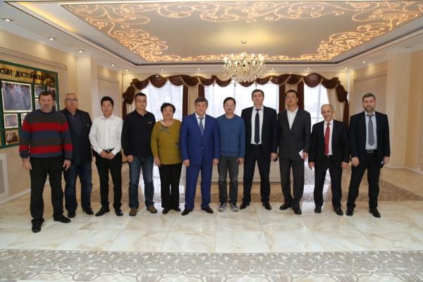 В Минэкономтерразвития ЧР состоялась встреча с китайскими бизнесменами