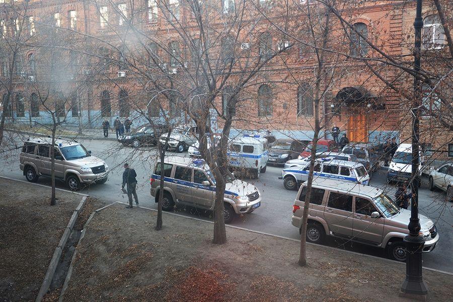 Напавший на управление ФСБ в Хабаровске украл оружие в стрелковом клубе