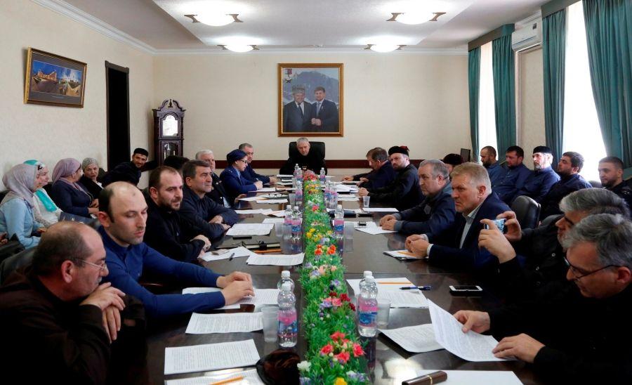 В Минобрнауки ЧР состоялось заседание межведомственной комиссии по делам несовершеннолетних