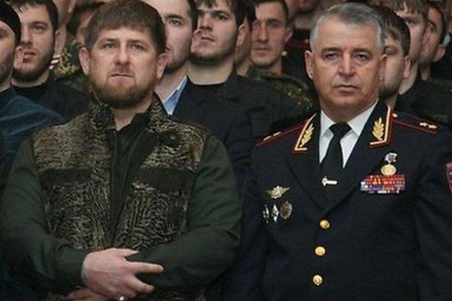 Глава Чечни поздравил министра внутренних дел ЧР с днем рождения